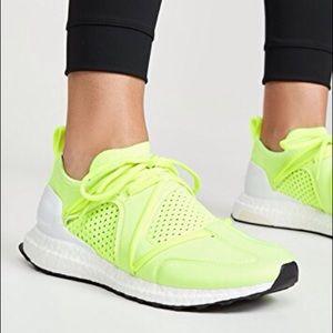 ADIDAS x Stella McCartney neon ultraboost sneaker